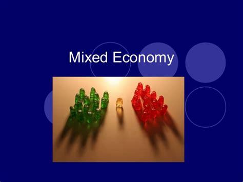 mixed layout definition mixed economy