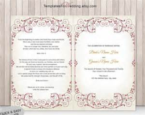 sweet sixteen program template popular items for ceremony template on etsy