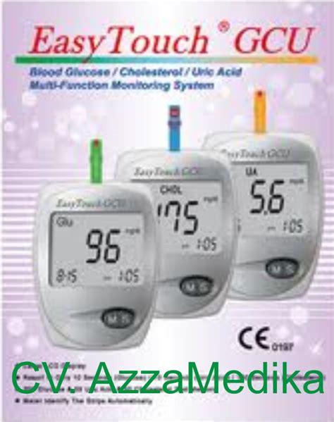 Alat Tes Gula Darah Merk One Touch cv azza medika perdagangan alat kesehatan