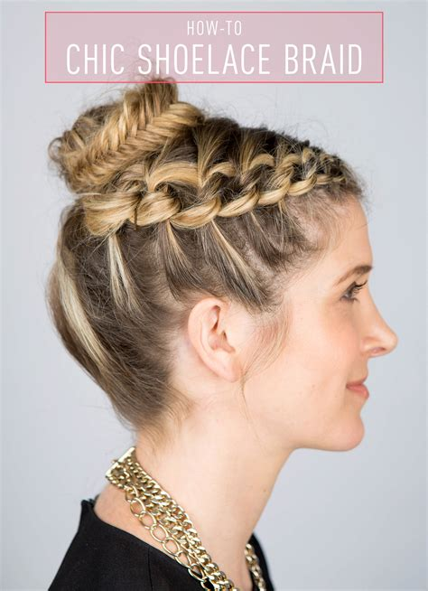 braid styles on days of our lives how to create a shoelace braid updo