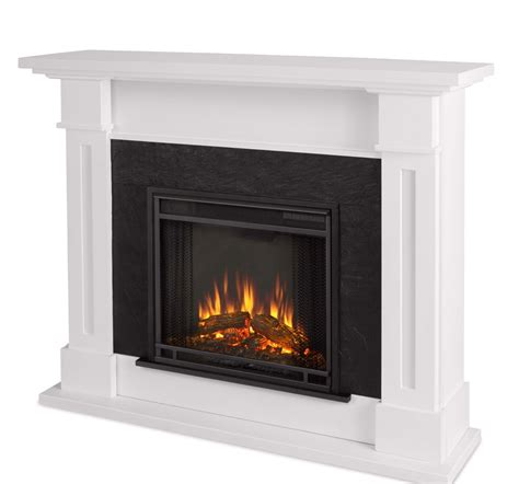 electric led fireplace kipling electric heater led fireplace in white 4700btu 54x42