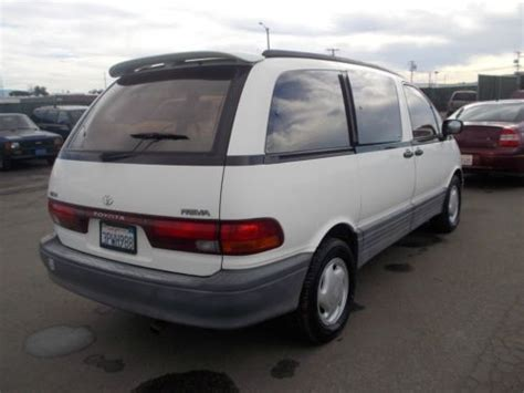 Toyota Previa 1996 Sell Used 1996 Toyota Previa No Reserve In Orange