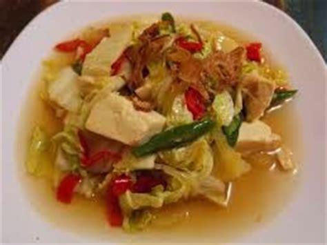 resep membuat tumis sawi putih tahu praktis harian resep resep menu sahur aneka masakan praktis dan sederhana
