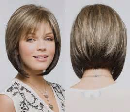 modified bob haircut photos angled bobs with bangs short hairstyles 2016 2017