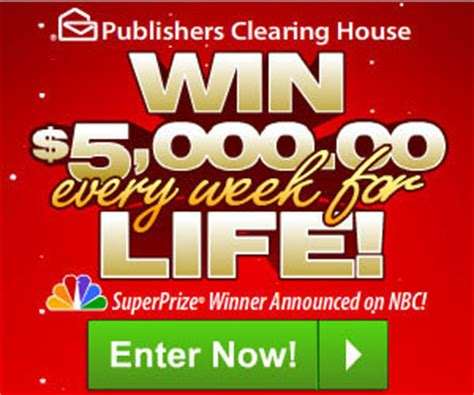 Sweepstakes Clearinghouse Products - pch sweepstakes us only