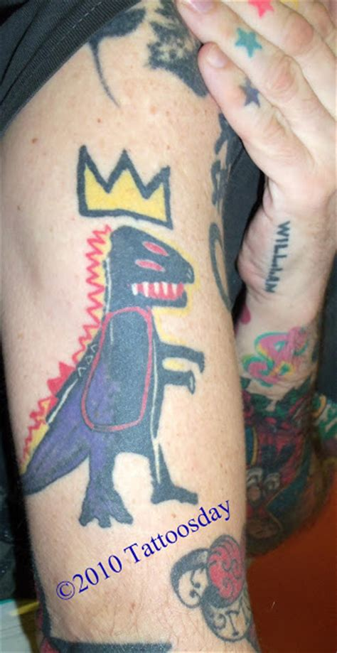 basquiat crown tattoo jean michel basquiat quotes quotesgram