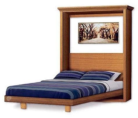 Murphy Craftsman Design Bed Frame Queen Size Wall Bed Murphy Bed Frame
