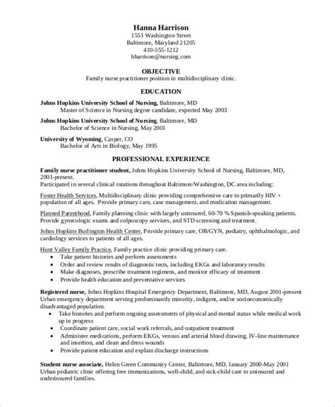 Practitioner Resume Objective Exles Resume 11 Free Word Pdf Documents Free Premium Templates