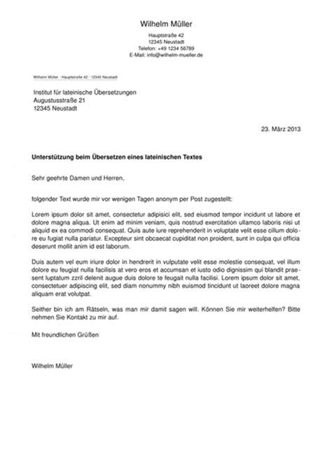 Vorlage Moderner Brief Michael Fiedler Net Briefvorlage Im Stil F 252 R Openoffice