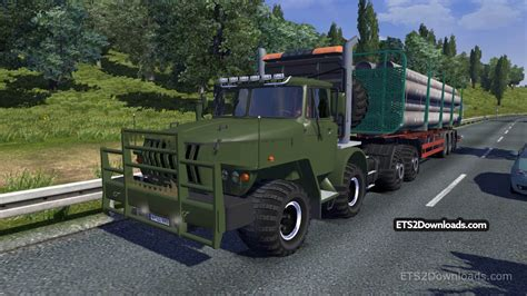 mod euro truck simulator 2 game modding ural 43202 v3 4 ets 2 mods ets2downloads