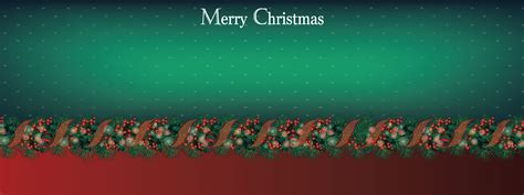 Holiday Design Backgrounds 3x8 Banner Template