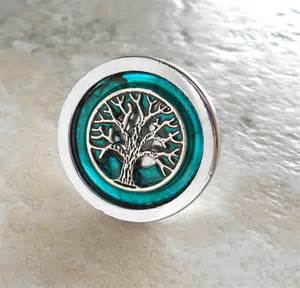 drawer pull teal cabinet knob cabinet pull by naturewithyou