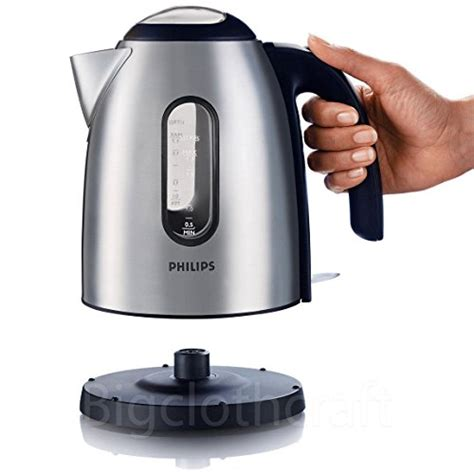 Magic Philips Stainless 2 Liter philips hd4667 stainless electric water kettle teapot 1 7l for coffee tea 220v appliances store
