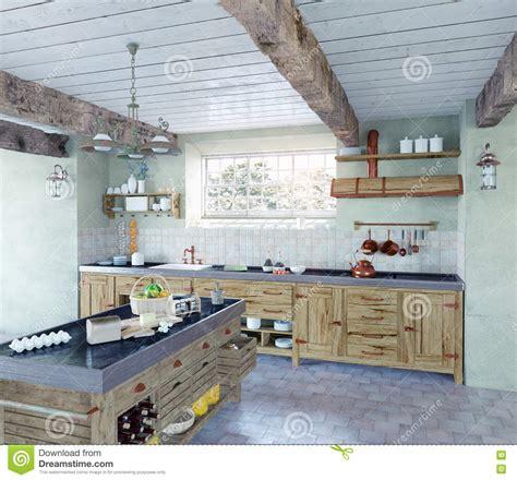 cuisine al ancienne cuisine 224 l ancienne illustration stock image 46085295