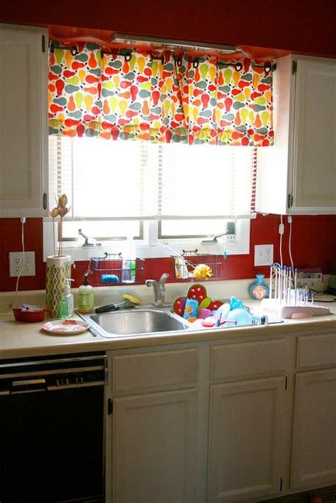 Bright Kitchen Ideas K 252 Chenvorh 228 Nge Dienen Als Sonnenschutz Und Peppen Ihre K 252 Che Auf