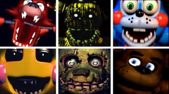 Five golden nights at freddy s 2 all jumpscares youtube