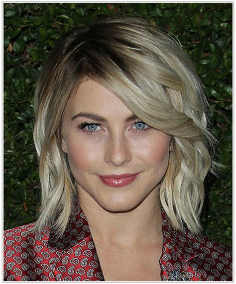 julianne hough shoulder length bob haircut for straight the top hairstyles for october 2014 thehairstyler com