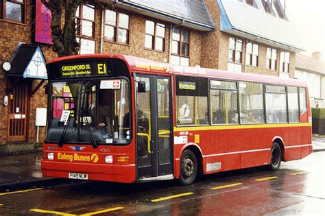 Greenford Garage by Routes Route E1 Ealing Broadway Greenford