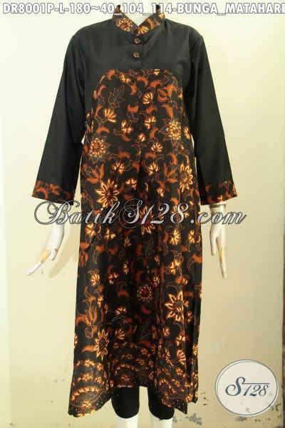 Baju Wanita Dress Panjang Bagus baju batik kerja wanita terkini dress batik desain