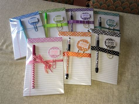 pattern matching notepad 100 best handmade gifts and favors i have made images on
