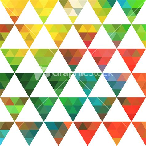 triangle mosaic pattern geometric pattern of triangles shapes colorful mosaic