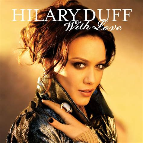 Hilary Duffs Single And Loving It by Car 225 Tula Frontal De Hilary Duff With Cd Single