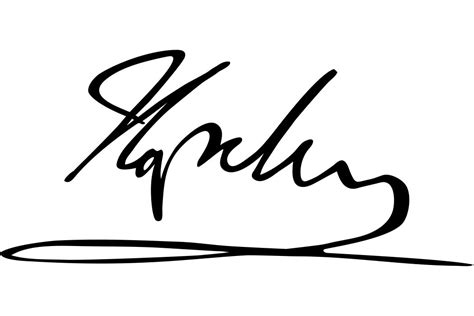 Signature by Napol 233 On S Signatures The Story Of A Decline In