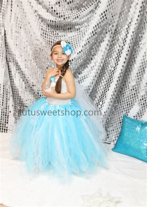 Elsa Handmade Costume - elsa olaf frozen dresses clothing birthday tutu outifts