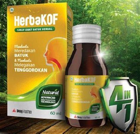 Obat Herbakof harga dan manfaat herbakof untuk obat batuk manfaat obat