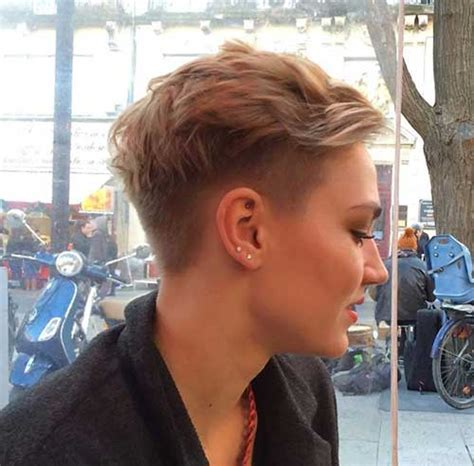 is it trendy for women to shave their privacy now 15 nice shaved pixie cuts pixie cut 2015