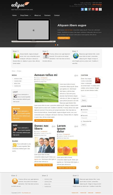 joomla template software design eclipse software app development joomla free template