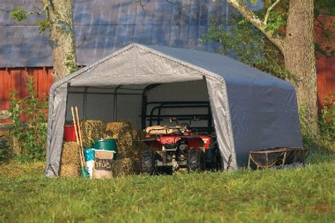 Tarp Sheds by Tarp Storage Shed Portable Shelters And Sheds