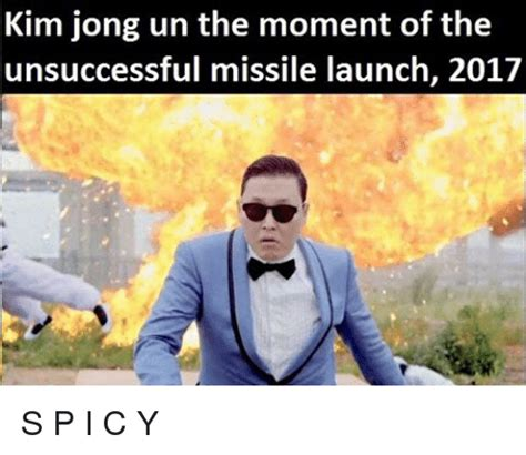 Un Meme - kim jong un the moment of the unsuccessful missile launch