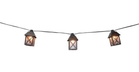 Target Smith Hawken Lantern String Lights 25 By Target Patio Lights