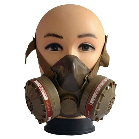 G Mask free ship cheap single gas mask protection filter chemical g 16 green respirator for spray