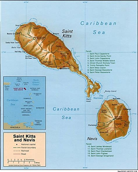 st kitts and nevis map kitts and nevis country profile nations