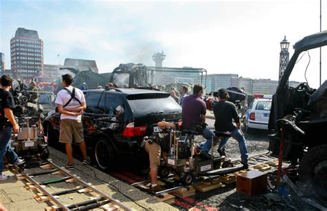 fast and furious london wreckage scenes the fast and the furious 6 filming in