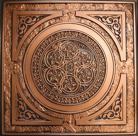 How To Antique Tin Ceiling Tiles by Steunk Faux Tin Ceiling Tile 24 Quot X24 Quot 225