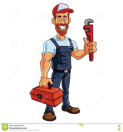 Mascot Plumbing by Plumber Mascot Vector Stock Vector Image 73825945