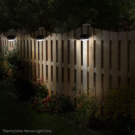 Outdoor Fence Lights Ebay