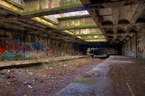 Botanic Gardens Railway Station Botanic Gardens Station Abandoned Scotland