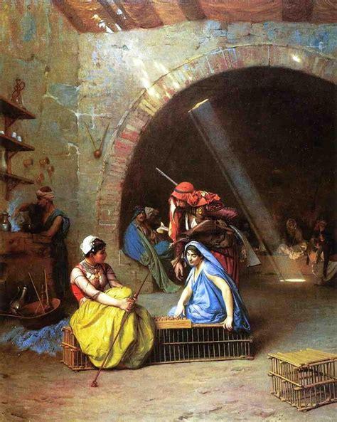 painting play now dubai orientalism