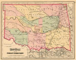 indian territory map gray s atlas map of indian territory barry