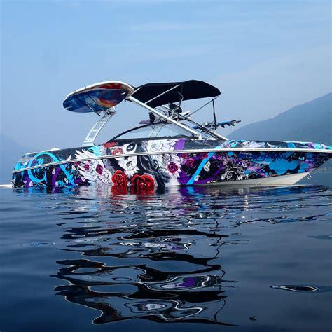 wake boat graphics boat wraps portfolio boat wraps wake graphics