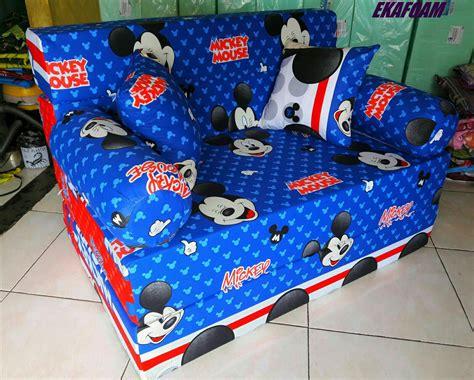Sofa Bed Ekafoam sofa bed inoac motif anak agen resmi kasur busa inoac