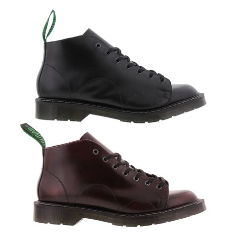 free monkey boots nps solovair made in england mens 7 eye leather monkey