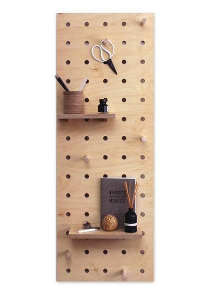 peg it all pegboards by kreisdesign design milk peg it all midi pegboard natural wearth london