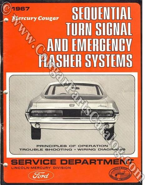 manual sequential turn signal service of operation free download 1967 mercury cougar