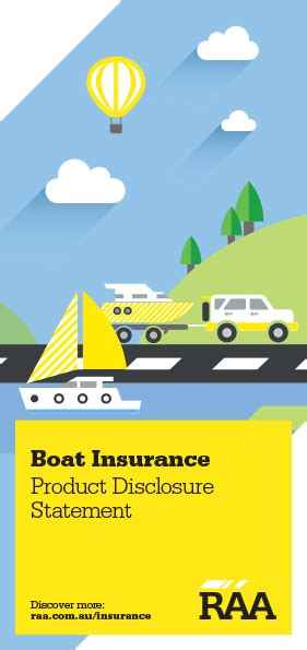 pds and fact sheets raa - Youi Boat Insurance Pds