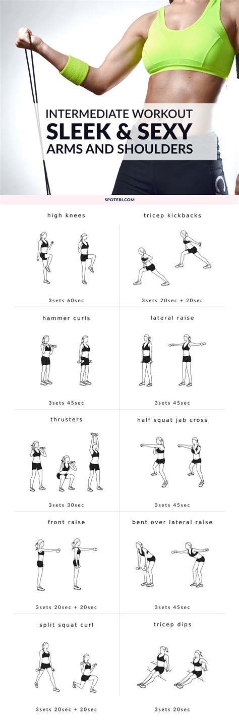 best dumbbell workout routine arms shoulders dumbbell workout routine sleek